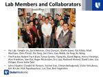 lab members and collaborators