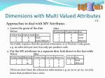 dimensions with multi valued attributes1