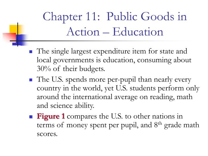 chapter 11 public goods in action education n.