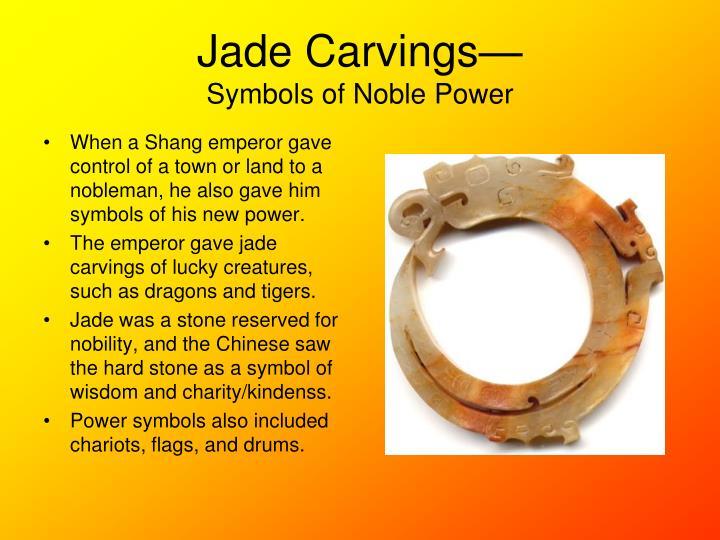 Jade Carvings—