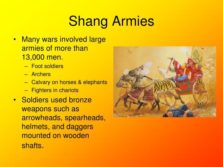 Shang Armies