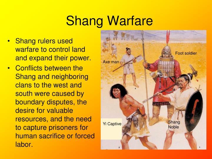 Shang Warfare
