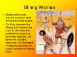 shang warfare