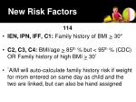 new risk factors1