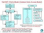 netcdf 4 data model common data access model