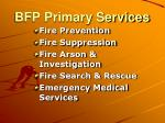bfp primary services
