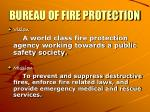 bureau of fire protection1