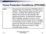 force protection conditions fpcons2