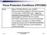 force protection conditions fpcons3