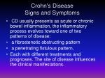 crohn s disease signs and symptoms