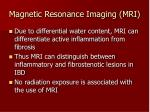 magnetic resonance imaging mri
