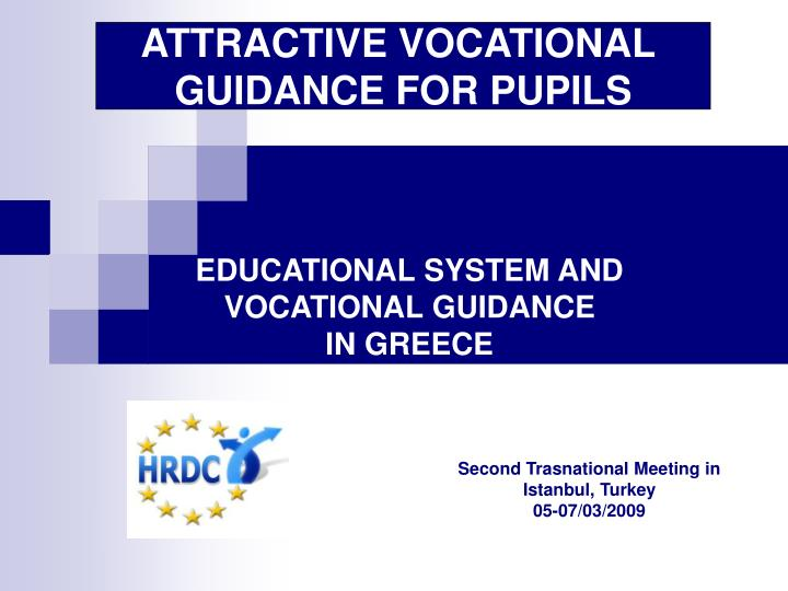 educational system and vocational guidance in greece n.