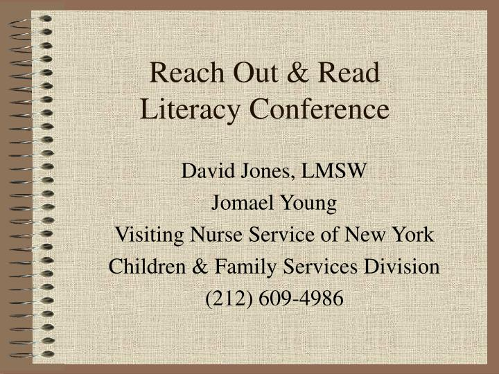 reach out read literacy conference n.