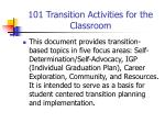 101 transition activities for the classroom2