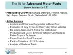 the ia for advanced motor fuels www iea amf vtt fi