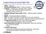 learjet sense avoid flight test1