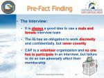 pre fact finding2