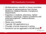 imb classification committee