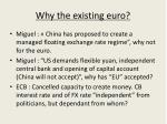 why the existing euro
