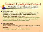 surveyor investigative protocol medical director citation examples1