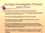 surveyor investigative protocol medical director4