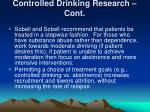 controlled drinking research cont1