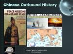 chinese outbound history