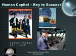 human capital key to success