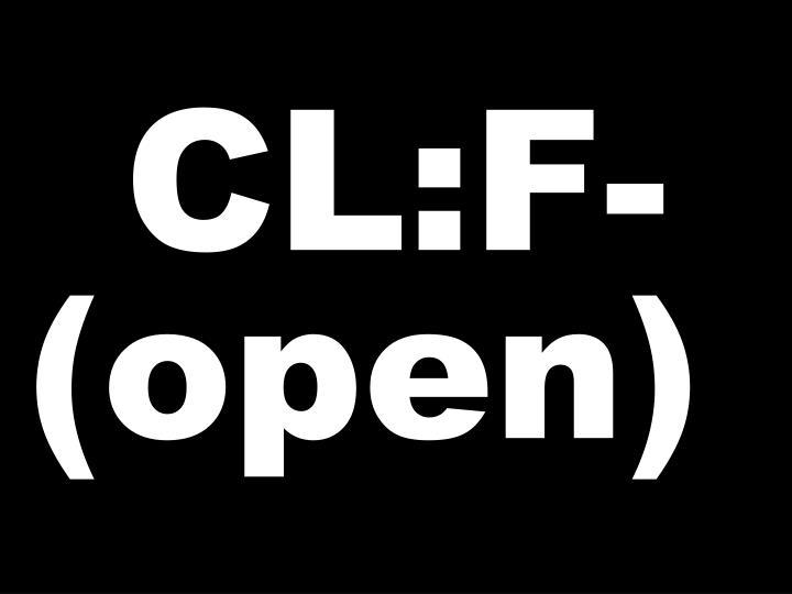 CL:F-(open)