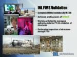 inl fims validation