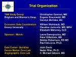 trial organization