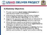ilsgateway objectives