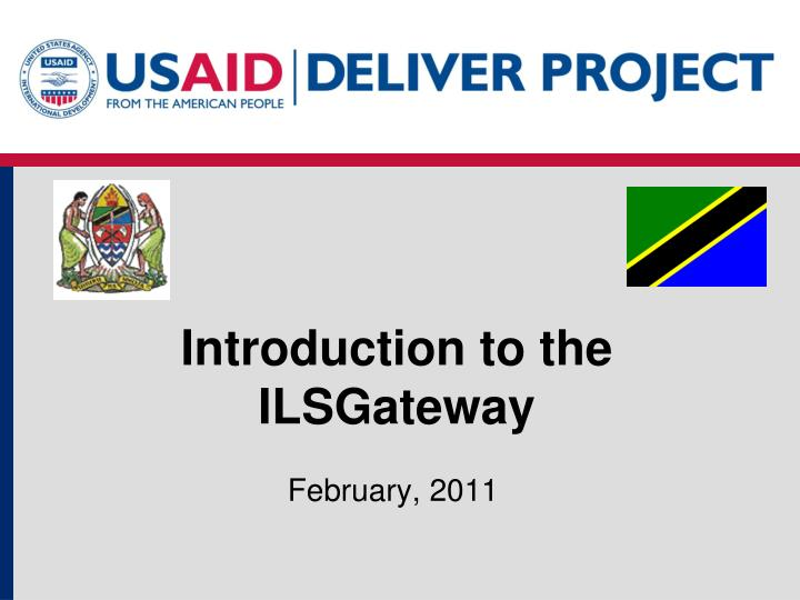 introduction to the ilsgateway n.