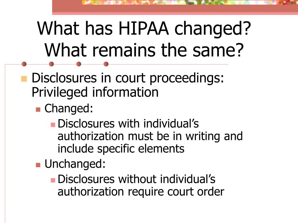 PPT - Medical Records in Court: Life after HIPAA PowerPoint