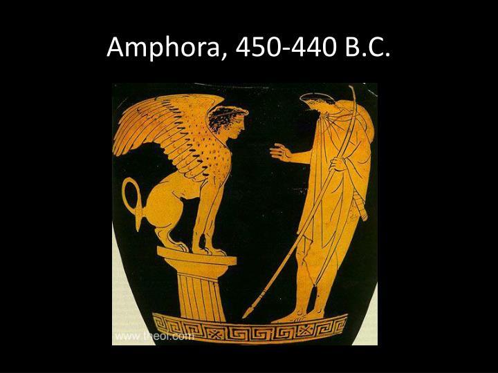 Amphora, 450-440 B.C.