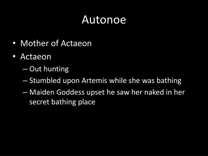 Autonoe