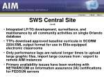 sws central site contd