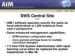 sws central site contd1
