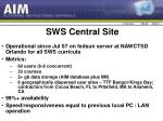 sws central site