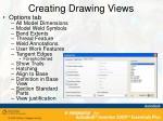 creating drawing views3