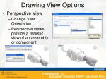 drawing view options