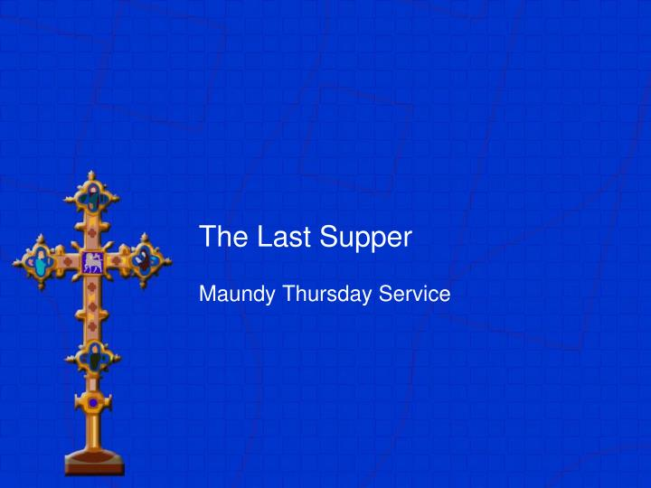 the last supper n.