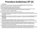 procedura bud etowa jst 2