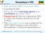 mozambique s nss