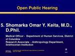 open public hearing4