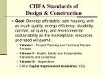 chfa standards of design construction