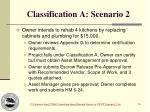 classification a scenario 2