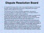 dispute resolution board