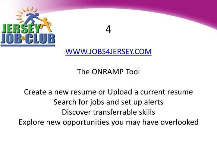Jobs4jersey Resume Gallery - resume format examples 2018