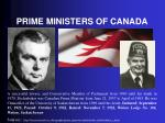 prime ministers of canada1